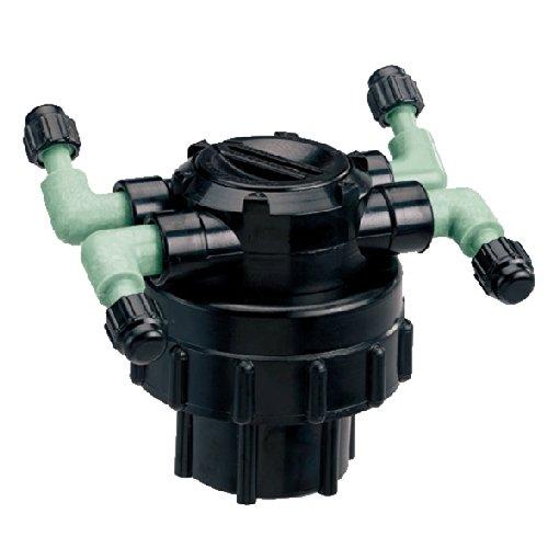 Orbit 100 Pack 4-Port Drip Irrigation Manifold for 1 4 Inch Tube