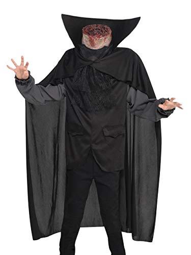 Boys Teens Scary Creepy Headless Horseman Sleep Hollow Halloween Fancy Dress Costume Outfit 8-14 Years (8-10 Years)]()