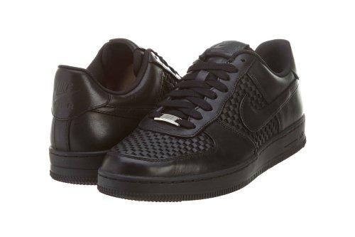 Nike Men's AF1 Downtown Lth Qs Black/Black/Black Basketball Shoe 9.5 Men US