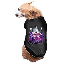 Black Gravity Falls Cartoon Dipper Mabel Hirsch Dog Clothes Puppy Jacket