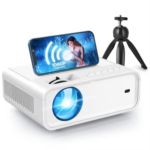 Video Projector, ACROJOY Sunspark 500W WiFi Mini Projector with Tripod, Full HD 1080P 240