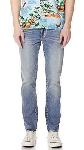Mens Levis Red Tab (Levis Red Tab Men's Rolf 511 Slim Jeans, Indigo, 34X32)