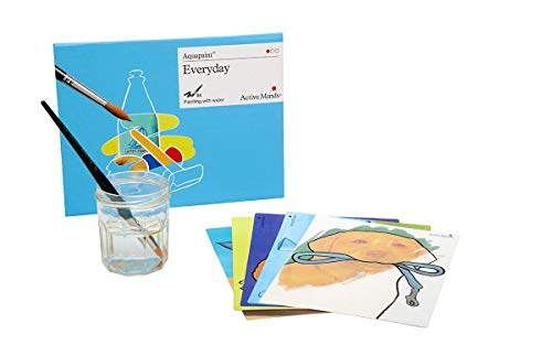 Everyday Aquapaint - Reusable Water Painting by Active Minds | Specialist Alzheimer's/Dementia Art Activity w/Five Painting Designs (Craft Activities For Elderly Nursing Home Residents)