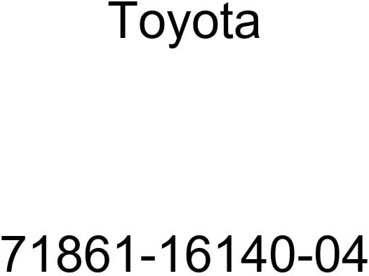 Toyota Genuine 71861-16140-04 Seat Cushion Shield