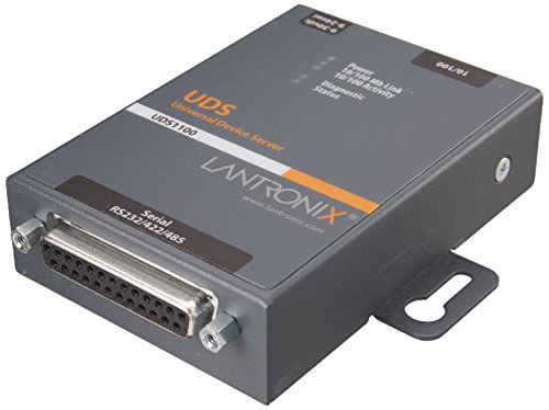 UD1100002-01 Device Servr 1PRT 10/100 RS232/422/485 by Lantronix