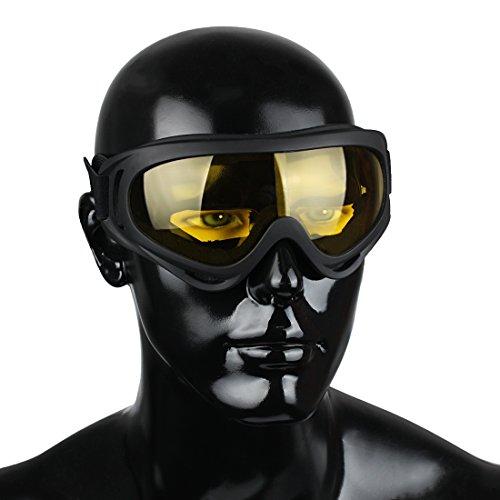 3pcs de Protección amp;grey Moto Deportivas Ciclismo UV400 04 de yellow sol clear set GL Gafas Zone Gafas Andux amp;yellow wqOBgAA