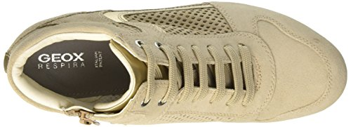 B Sneakers Femme Hautes Lt Goldch62l D Lt Beige Geox Illusion Taupe ZqBRExF