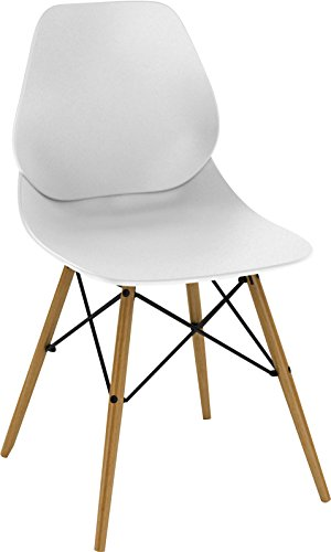 dar Living Vaarna Chair, White Review