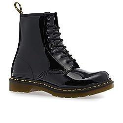 Dr Marten S Women S 1460 8 Eye Patent Leather Boots Black Patent Lamper 7 F M Uk 9 B M Us Women 8 D M Us Men
