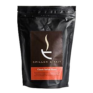 Spiller & Tait Classic Italian Blend – Forte chicchi di caffè 1 kg – Arrostito in piccoli lotti nel Regno Unito…