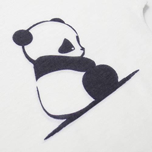 JFLYOU Women's Fashion Geometric Cute Pet Animal Print O-Neck Short Sleeve Loose T-Shirt Blouse(Multi#S,M) by JFLYOU-Blouse (Image #2)