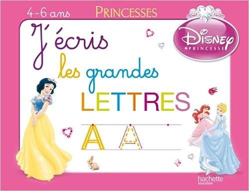 Lire en ligne J'écris les grandes lettres avec les Princesses - Ardoise pdf