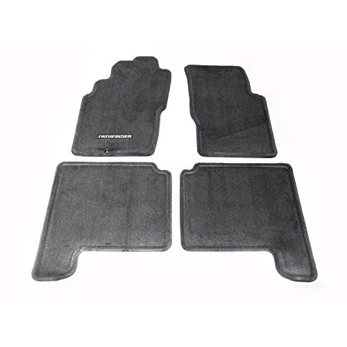 Perfect Fit Heavy Duty Black Rubber Car Floor Mats for Ford Fiesta Mk5 99-02