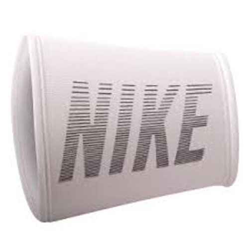 Nike Performance Graphic Doublewide Wristbands - White