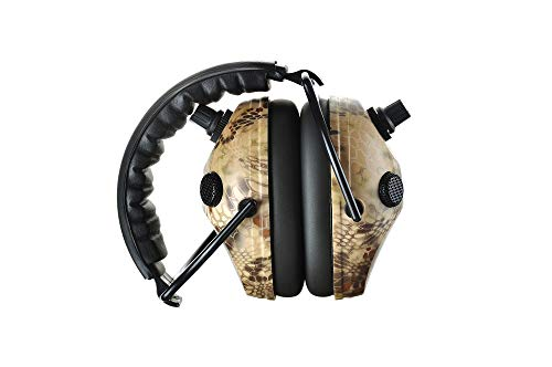PROTEAR Earmuffs Noise Cancelling Hearing Protection Folding Headphones, 9X Hearing Enhancement Earmuffs with Black Case Bag by PROTEAR (Image #5)
