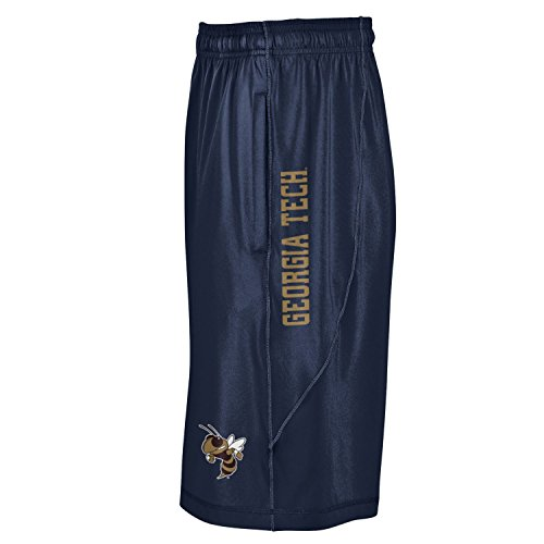Under Armour NCAA Georgia Tech Men's Raid Shorts, X-Large, Midnight Navy Georgia Tech Mens Shorts