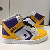 Magic Johnson (2) Signed Converse Weapon Sneakers Sneaker Pair Hologram - Steiner Sports Certified - Autographed NBA Sneakers