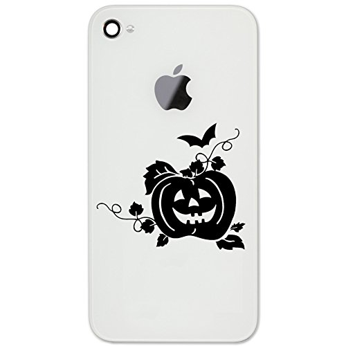 Pumpkin Jack O Lantern Face Silhouette Vinyl Cell Phone for sale  Delivered anywhere in USA