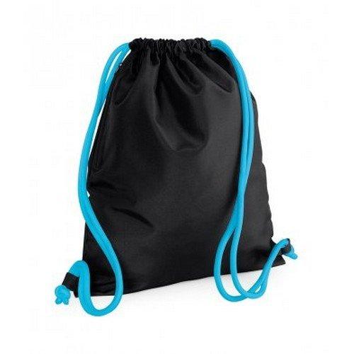 Gymsac Blue Bagbase Bag Black Drawstring Icon Surf FxffOwtZq