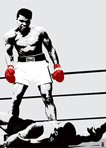 Pyramid America Muhammad Ali-Red Gloves, Sports Giant Poster Print, 39 by 55-Inch