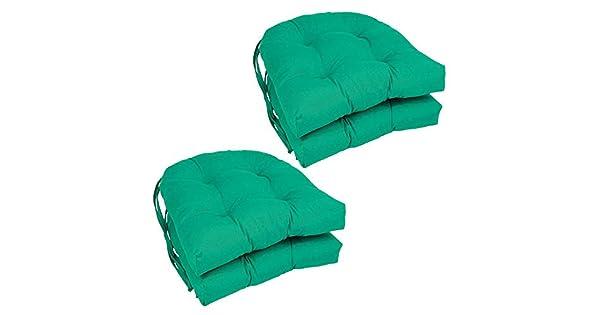 Amazon.com: U-Shape Cojín para – Set de 4 sillas de comedor ...