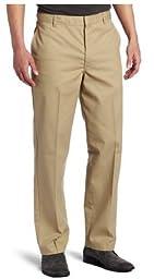 Dickies Men\'s Flat Front Pant, Khaki, 30X34
