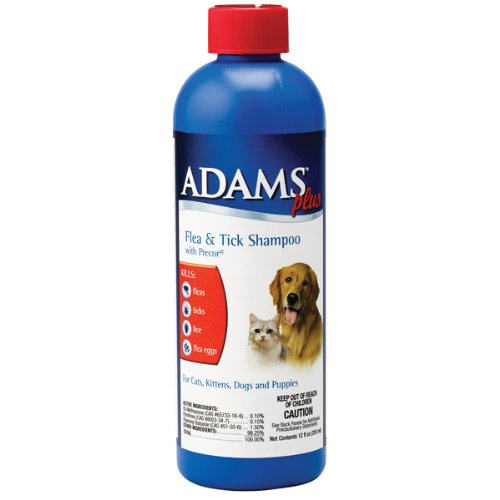 Adams Plus Flea & Tick Shampoo with Precor, 1-gallon
