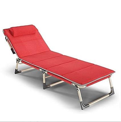 Amazon.com : ZLJTYN Zero Gravity Chair Folding Sun Lounger Cama ...