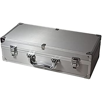 Amazon.com: Aluminum Storage Box 50 Universal Coin Slab ...