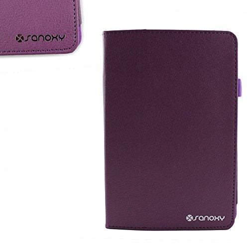 SANOXY Slim FOLIO Folder PU Leather Stand Case for iPad 2/3/4 /ipad 2nd Generation (PURPLE FOLIO)