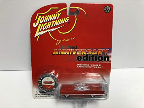 Lincoln Futura JOHNNY LIGHTNING 2004 10 Years Anniversary Edition Limited Edition die-cast with collectible coin