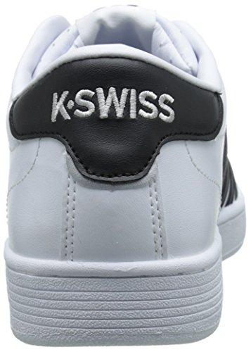 Mens K-swiss Hoke Moda Sneaker Bianco / Nero