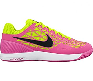 Nike Zoom Cage 2 Damen Tennisschuh (pinkhellgrün): Amazon