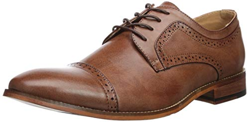 Unlisted by Kenneth Cole Men's Cheer Lace Up Oxford Cognac 10 M US