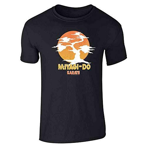 Karate Kid Miyagi-Do Dojo Bonsai Sunset Costume Black 3XL Short Sleeve T-Shirt ()