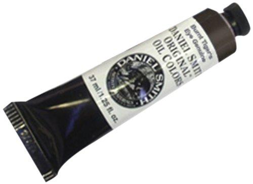 Daniel Smith Original Oil Color 37ml Paint Tube, Burnt Tiger's Eye Genuine