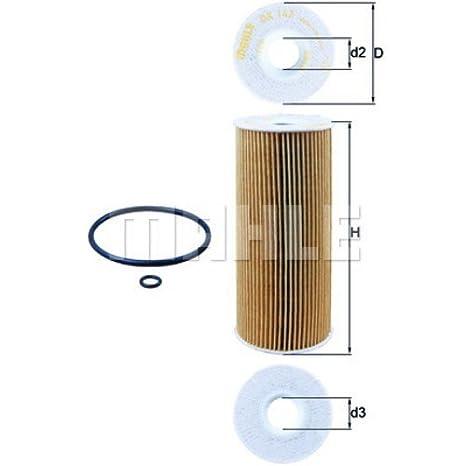 Siervo Mahle junta de filtro + Velas + + 5L Mannol 5 W-40 Aceite + accesorios: Amazon.es: Coche y moto