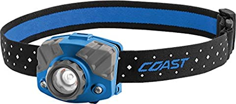 Coast FL75R Rechargeable Focusing 530 lm LED Headlamp, , Blue - Focusing Headlamp