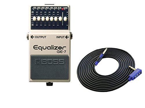 BOSS コンパクトエフェクター Equalizer GE-7 + 3m ギターケーブル VOX VGS-30 セット   B077Z5XLVP