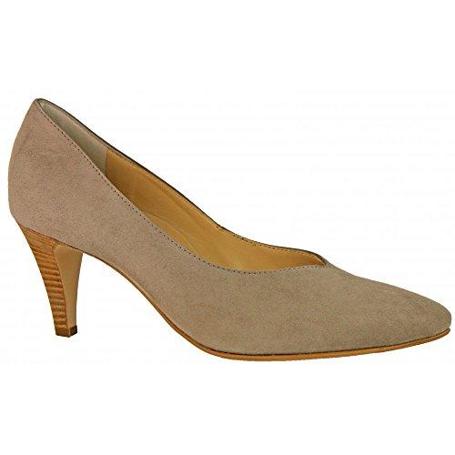 Suede Beige Court Suede Shoe 3389 wfp4f