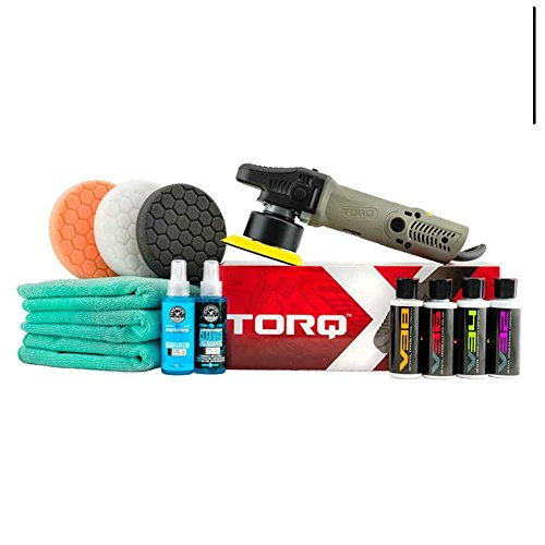 Chemical Guys Car Polishing Tools/Kit w/ Professional Grade Microfiber Towels & TORQX Polishing Machine by | Chemical Guys ®
