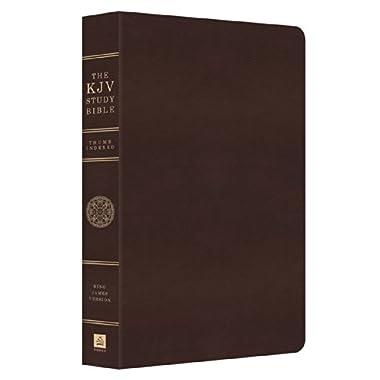 The KJV Study Bible - Indexed (King James Bible)