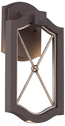 Minka Lavery Outdoor Wall Light 72401-287B-L Eastborne Exterior LED Wall Lantern, Sand Bronze by Minka Lavery