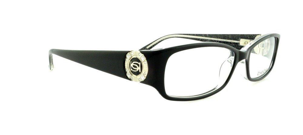 d45b030e7b Galleon - Bebe GLITZY Eyeglasses BB5060 JET