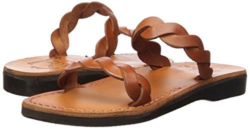 Jerusalem Sandaler Kvinners Joanna Lysbilde Sandal Honning