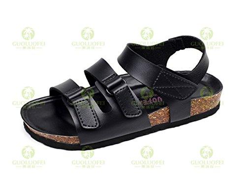 45 De Black Black Sandalias GUANG XING De Corcho Zapatillas 44 8wzR1Iqx