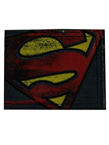 Superman Monedero MW06DPSPM Azul