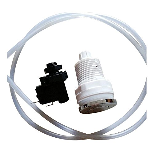 SODIAL(R) 16A On Off Push Button Switch Jetted Whirlpool Jet For Bath Tub Spa Garbage (Bathtub Jetted Spa)