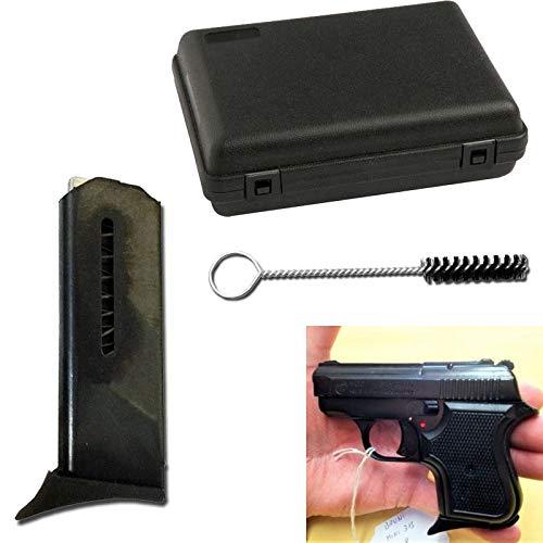 Pistolet Blancs en MÉTAL 315 Baby 8 MM Nickel 0.4 Joule- BR-315N.8 2