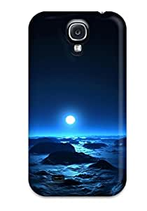 CaseyKBrown Fashion Protective Sea & Moon At Mid Night Case Cover For Galaxy S4 by lolosakes